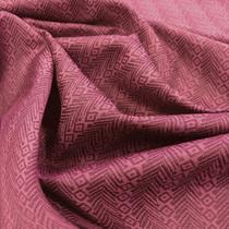 Подкладка жаккардовая цвета малины со сливками
