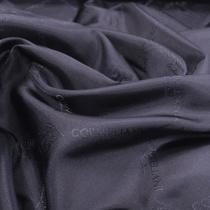 Подкладка жаккардовая принт CORNELIANI черно-синяя