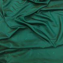 Подкладка жаккардовая 100% купро изумрудно-зеленого цвета