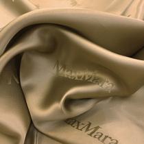 Подкладка жаккардовая золотисто-песочного цвета MAX MARA