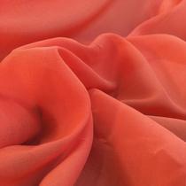 Муслин хлопок с шелком оранжевого цвета