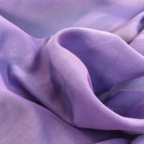 Муслин хлопок с шелком фиолетового цвета