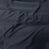 Трикотаж джерси стрейч темно-синего цвета