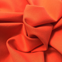 Джерси вискозное стрейч оранжевого цвета