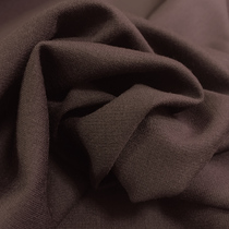 Джерси вискозное стрейч сливово-коричневого цвета