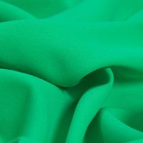 Крепдешин ярко-зеленого цвета