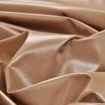Плащевка коричнево-бежевого цвета на трикотажной основе