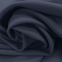 Джерси плательно-костюмное стрейч сине-голубого цвета
