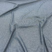 Твид костюмный стрейч синяя диагональ