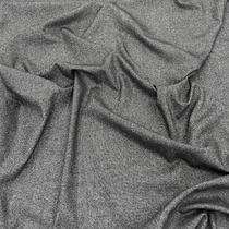 Твид костюмный стрейч серо-бежевая мелкая кашка
