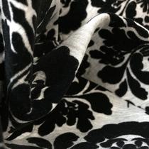 Ткань курточная тонкая двухсторонняя с поролоном внутри с флоковым узором