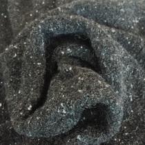 Костюмно-пальтовое шерстяное букле графитового цвета
