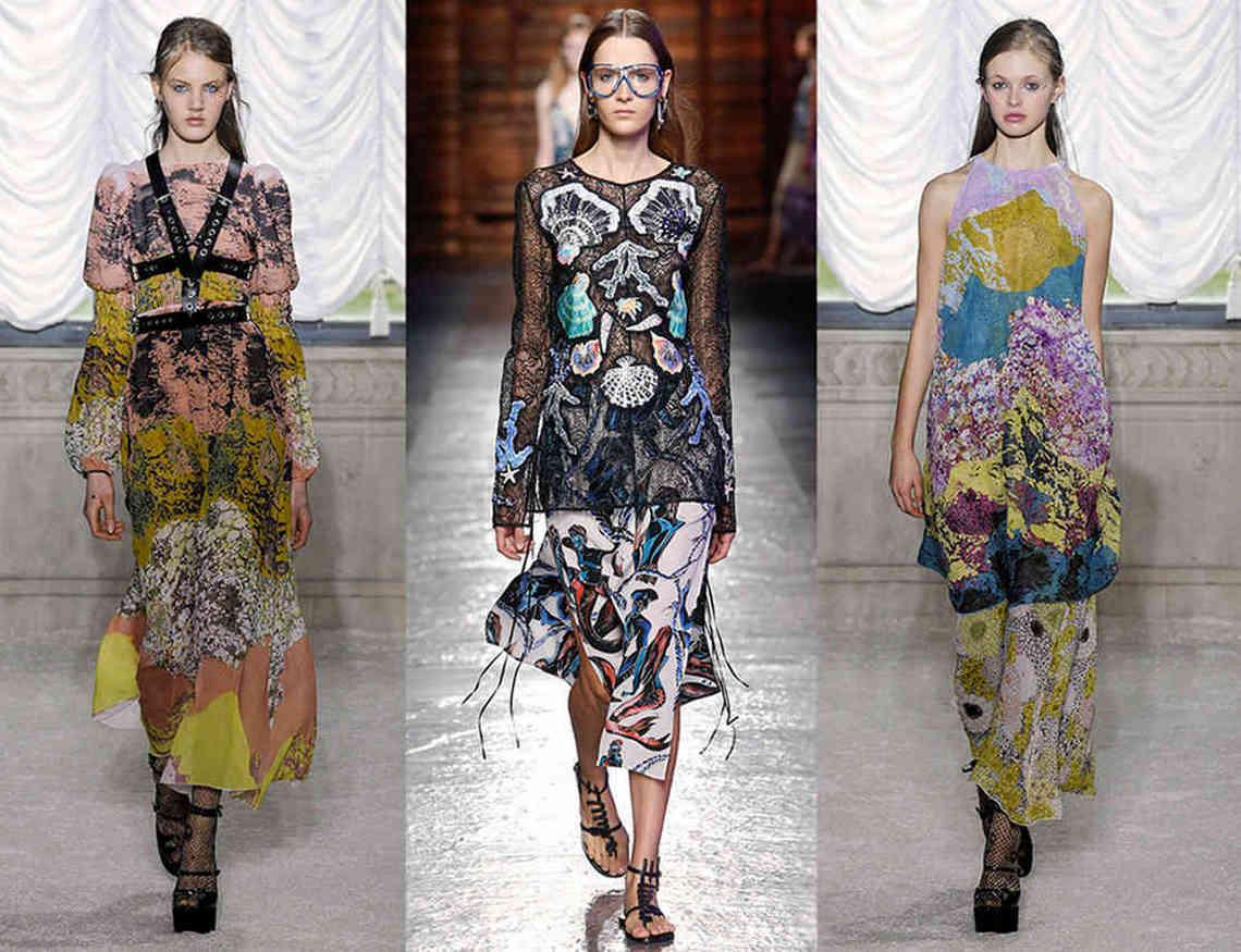 Модные ткани показ Милан Италия