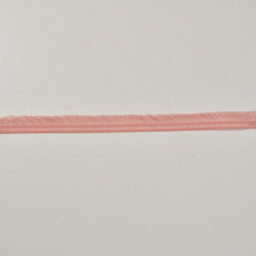 Хлопковая тесьма бахрома лососевого цвета