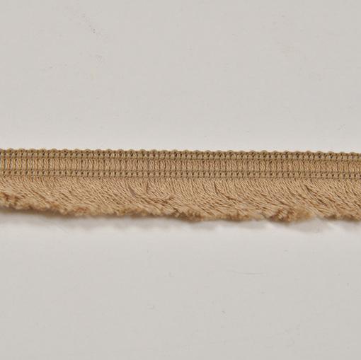 Хлопковая тесьма бахрома песочного цвета