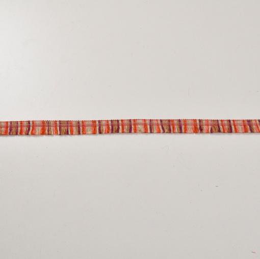Хлопковая тесьма бахрома полосатая