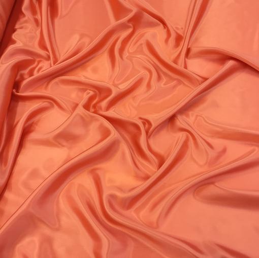Вискозный подклад кораллово-терракотового цвета