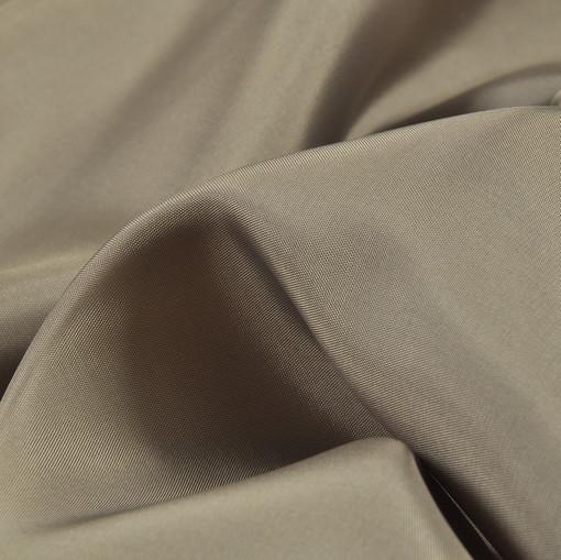 Подкладочная ткань из вискозы матового серо-песочного оттенка