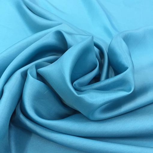 Подкладка вискозная ярко-голубая