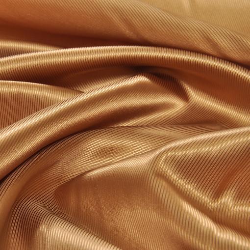 Вискозная подкладочная ткань медного цвета