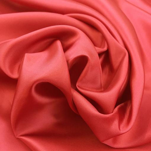 Подкладка вискозная алого цвета