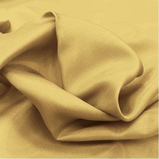 Подкладка вискозная желто-золотистого цвета