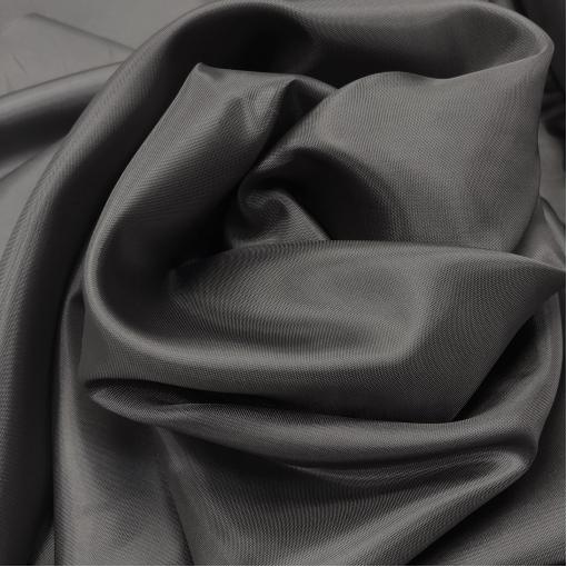 Подкладка вискозная антрацитового цвета