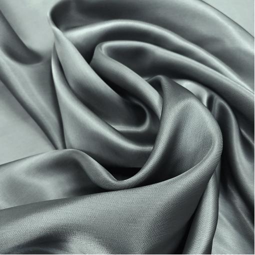 Подкладка вискозная сизо-голубого пыльного цвета