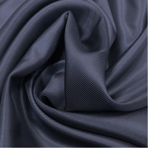 Подкладка вискозная диагональ тёмно-синего цвета
