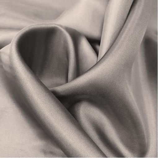 Подкладка вискозная тёплого средне-серого цвета