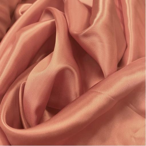 Подкладка вискозная терракотово-розового цвета