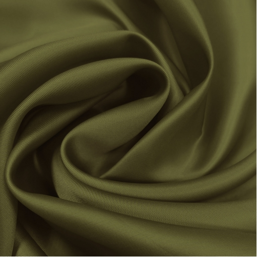 Подкладка вискозная оливково-табачного цвета