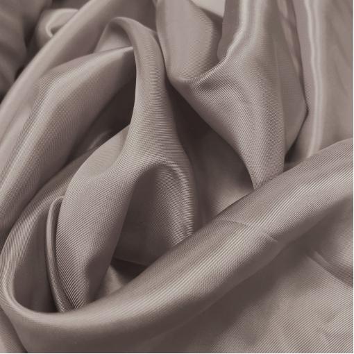 Подкладка вискозная серо-бежевая диагональ