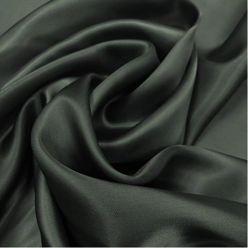 Подкладка вискозная черно-зеленого цвета