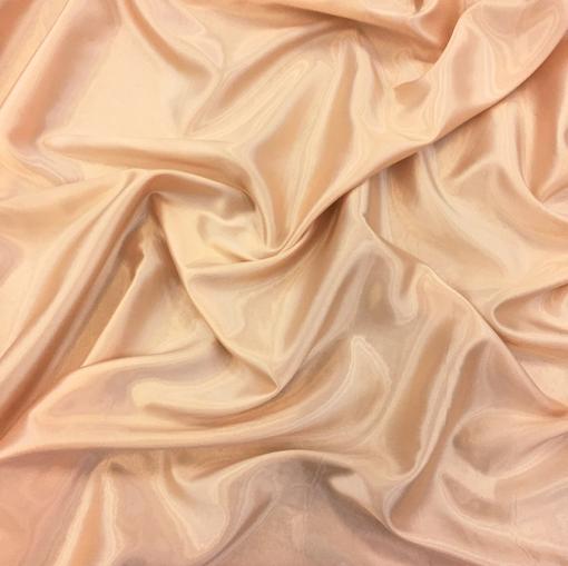 Подкладка 100% купро диагональ пудрового цвета