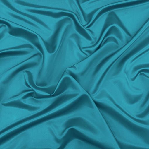Подкладка купро ярко-голубого цвета