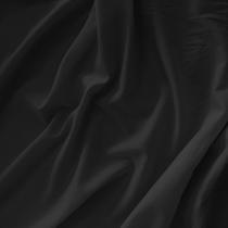Хлопок батист стрейч черного цвета