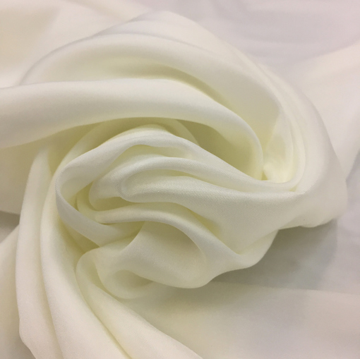 Подкладка стрейч молочного цвета