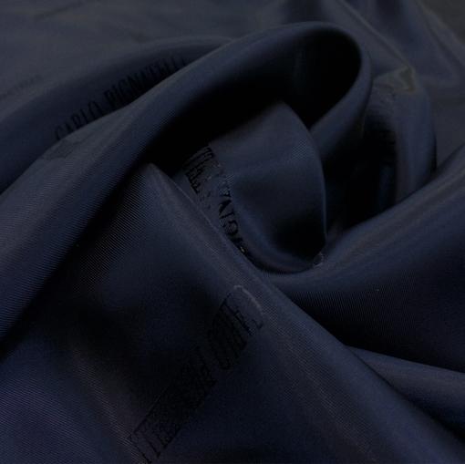 Подкладка жаккардовая Carlo Pignatelli синего цвета