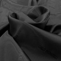 Подкладка жаккардовая Carlo Pignatelli серого цвета