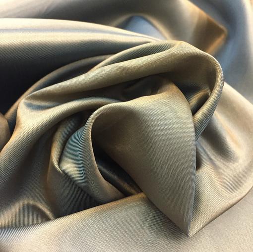 Подкладка хамелеон бронзового цвета с голубым отливом