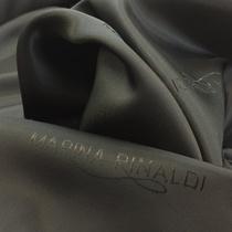 Подкладка жаккардовая Marina Rinaldi графитового цвета