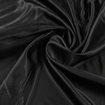 Вискозный черный жаккардовый подклад Carlo Pignatelli