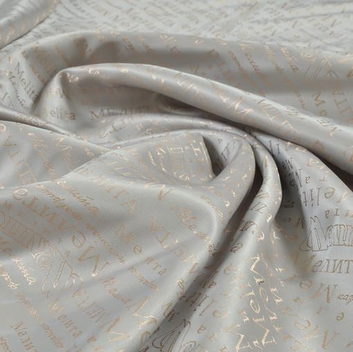 Жаккардовый подклад жемчужно-бежевого цвета Мелита
