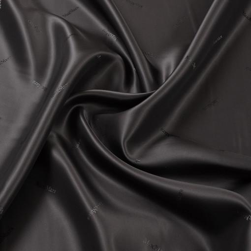 Жаккардовый подклад цвета горький шоколад Max Mara
