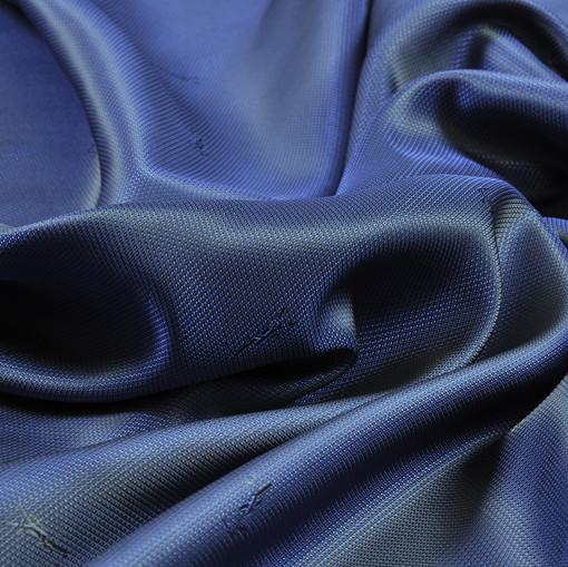 Жаккардовый подклад сине-разбеленного цвета