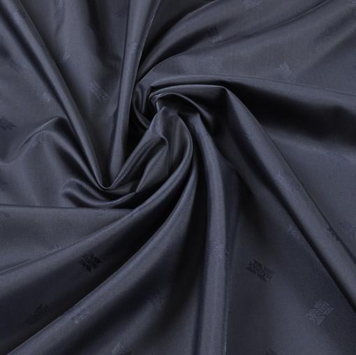 Жаккардовый подклад синего цвета Halifax