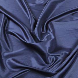 Жаккардовый подклад синий в мелкий горох
