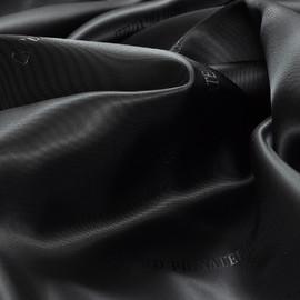 Вискозная подкладочная ткань Carlo Pignatelli антрацитового цвета