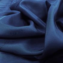 Вискозный синий подклад хамелеон с логотипом CALVIN KLEIN